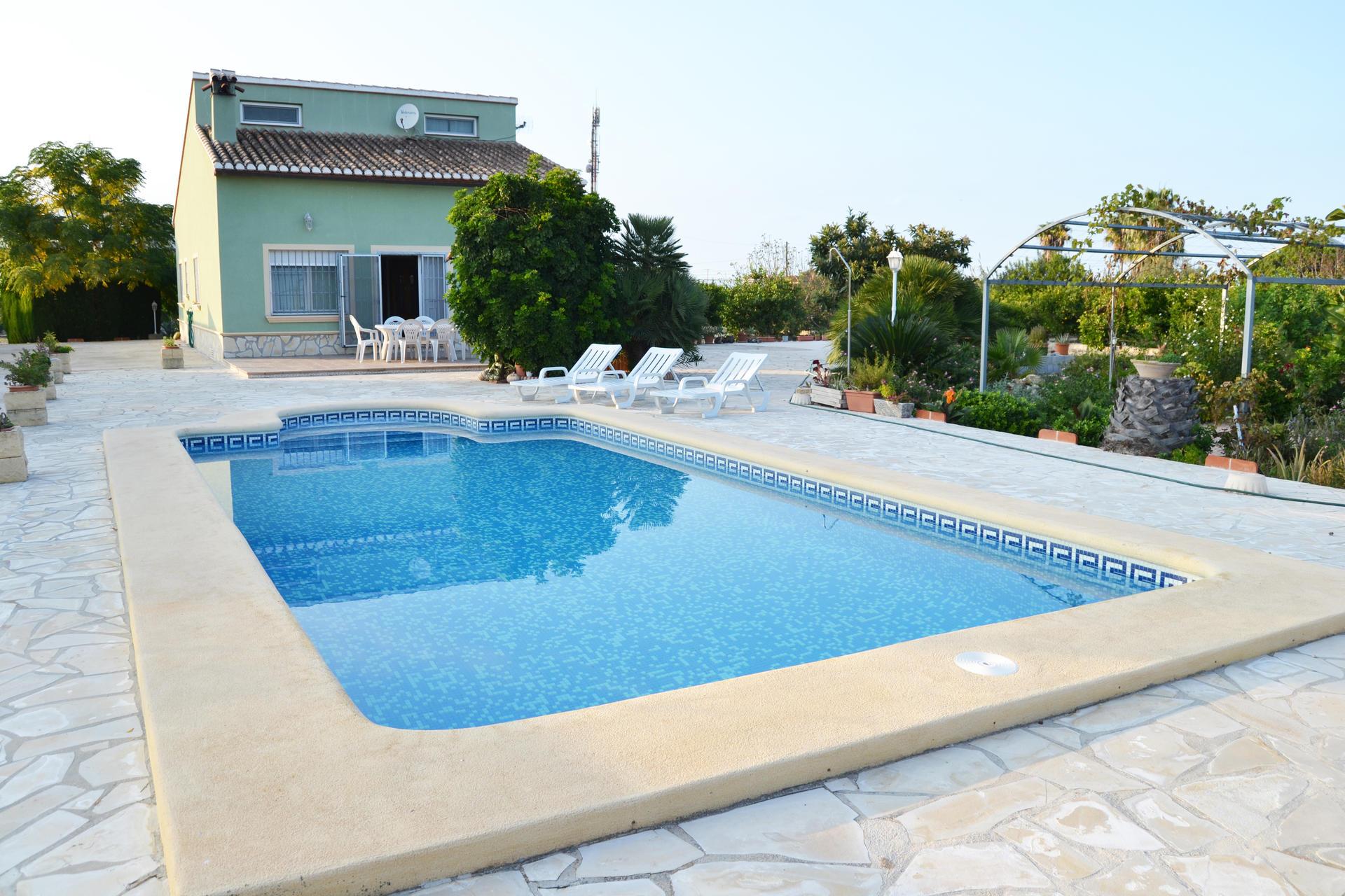 Villa -                                       Els Poblets -                                       4 Schlafzimmer -                                       11 Personen